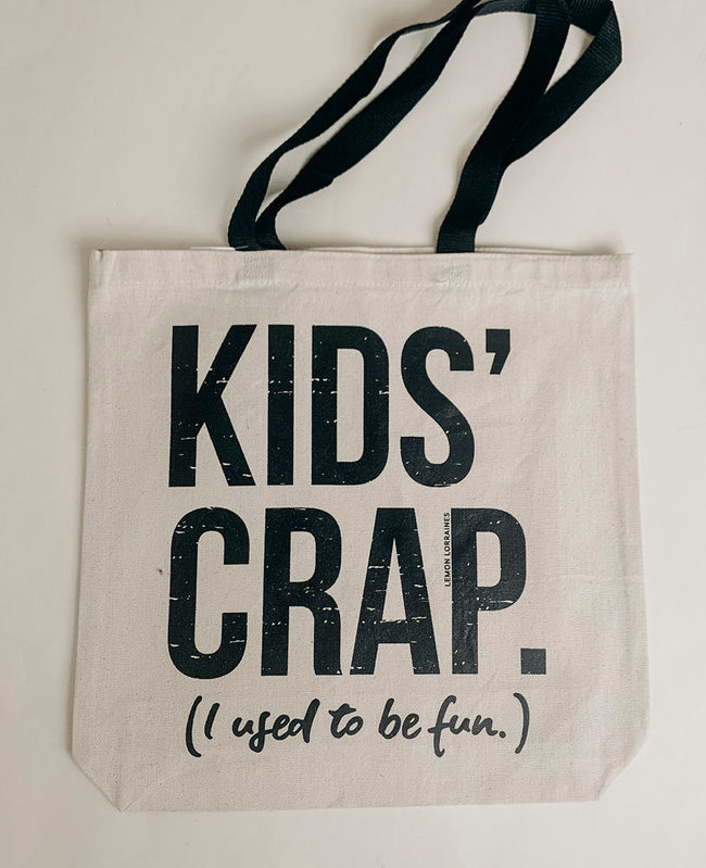 DOORBUSTER Exclusive Kids Crap Canvas Tote