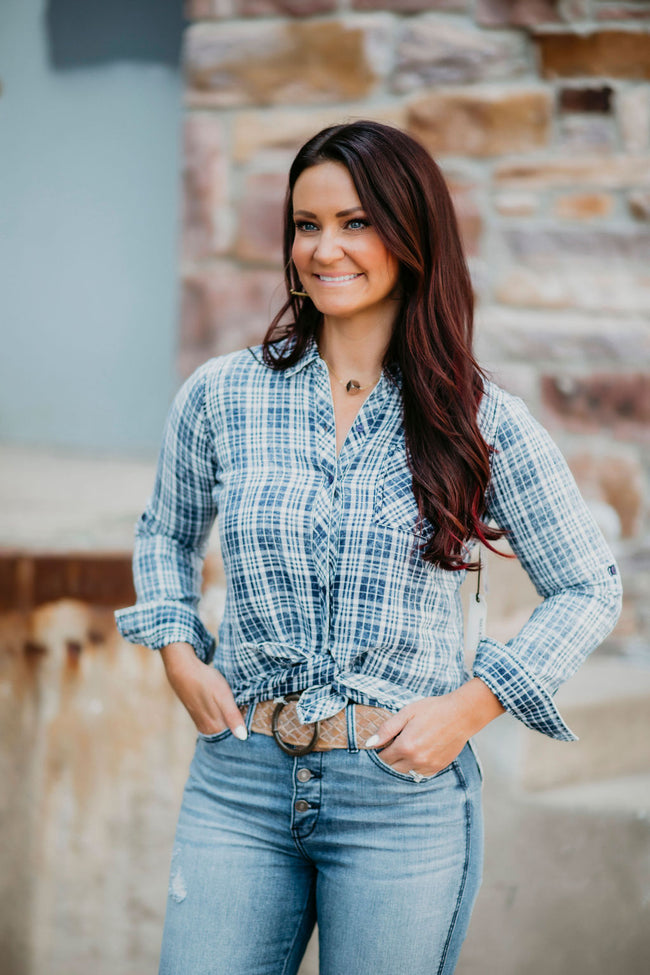 Arlow Plaid Top