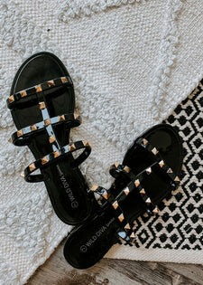 Good Point Studded Sandal