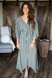 Visual Pursuit Stripe Dress