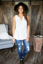 Lindsey Ruched Tank