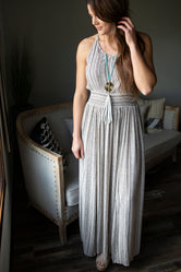 Geneva Halter Maxi Dress