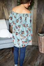 One Sweet Day Floral Tunic