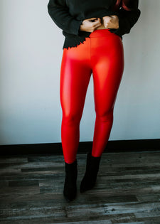 Roxie Faux Leather Legging