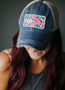 Girl Mom Baseball Cap