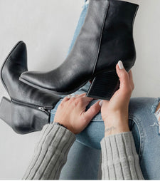 Sloan Pointed-Toe Bootie