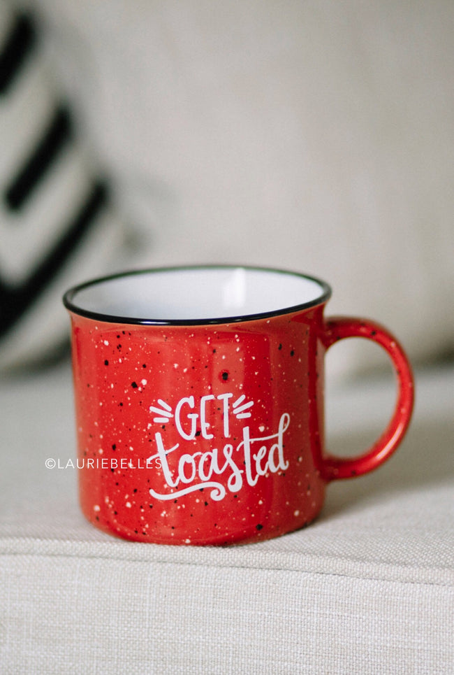 Get Toasted Camp Mug
