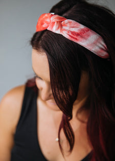 Tie Dye Top Knot Headbands