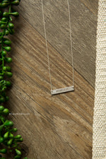 Dainty Quote Necklace (Several Styles)