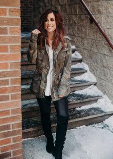 Chelsea DeBoer by Lily & Lottie Utility Jacket