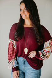 Compliment Catcher Top