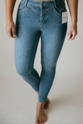 Free People Riley Seamed Skinny Jean
