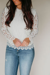 Catalina Lace Top