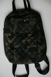 Camo Quilted Backpack