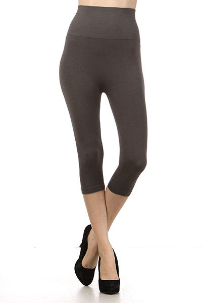 Cropped/Capri Tummy Tuck Leggings