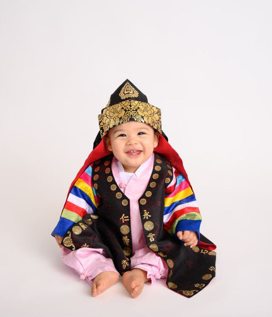 Customer Gallery: Traditional Korean Baby Boy Hanbok