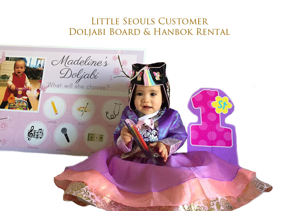 Customer Gallery:  Princess Lavender Hanbok