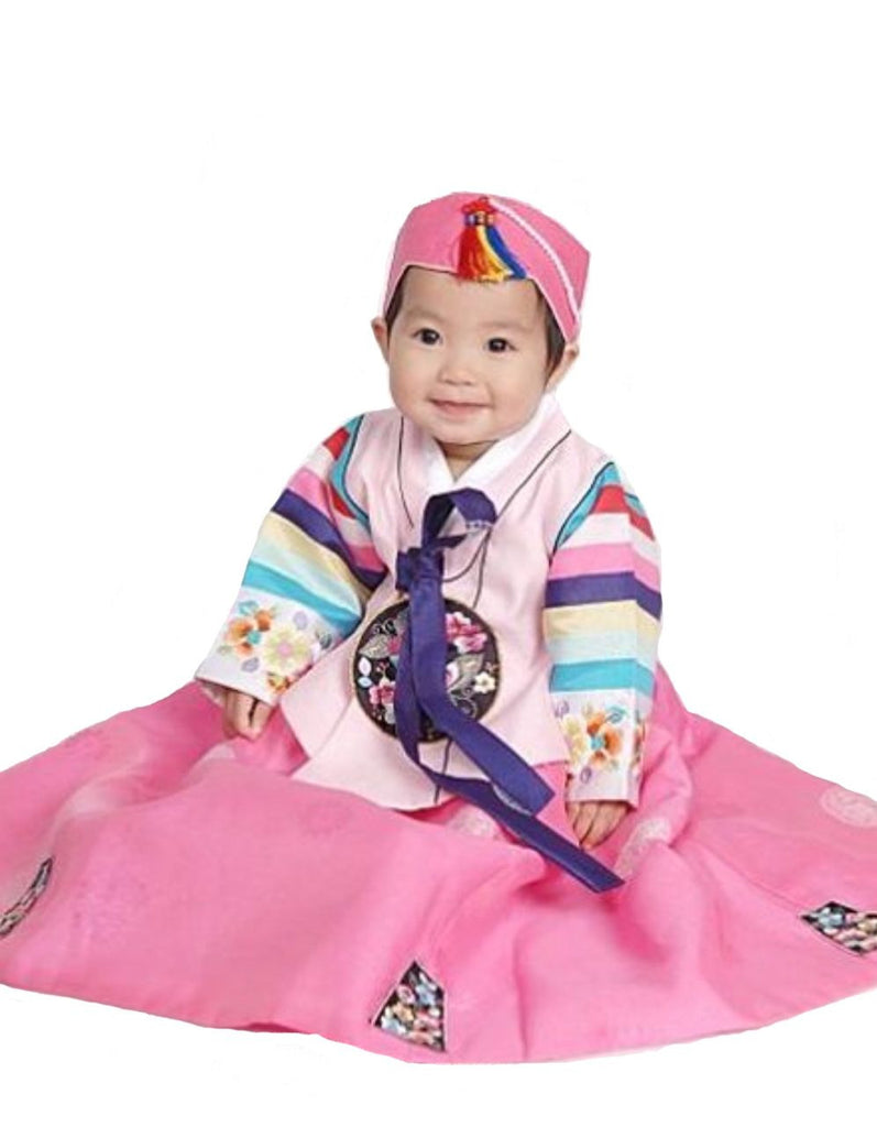 Customer Gallery: Pink Palace Hanbok Size 1