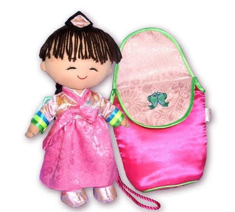 Korean Hanbok Princess Doll