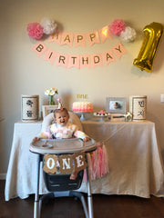 Korean 1st birthday party celebration