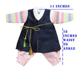 Boy's 100th Day Baek-il Birthday Hanbok (Size 3 to 6 months)
