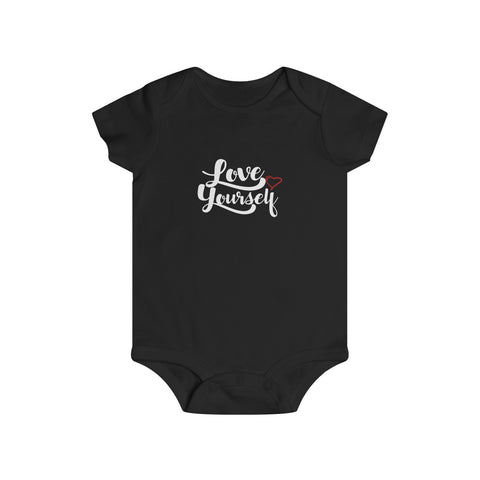 KPOP Love Yourself Infant Rip Snap Tee