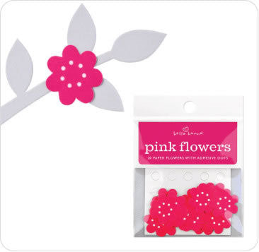 Stick Ons - Pink Flower