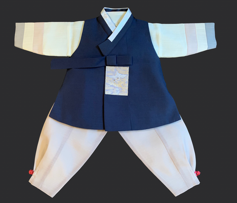 1st Birthday Boy Simplicity Hanbok