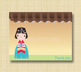 Rooftop Thank You cards