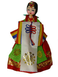 Traditional Korean Bride Doll