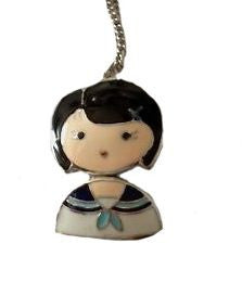 Pendant Necklace Traditional School Girl