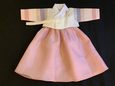 1st Birthday Girl Simplicity Hanbok