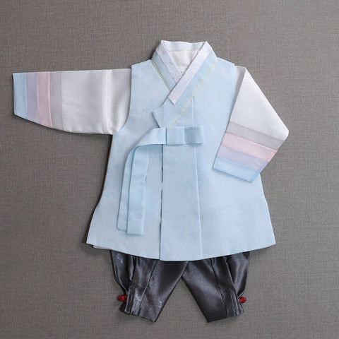 1st Birthday Boy Pastel Hanbok