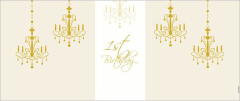 Banner Special Deal - First Birthday Backdrop Banner