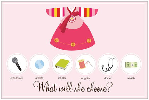 Dolljabi Board - Girl Hanbok Design