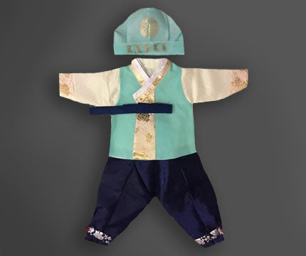 100th Day Boy Crown Prince Hanbok