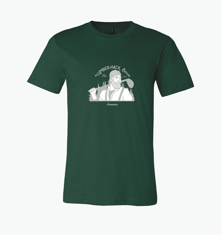 Swannies Lumber_Hack T-shirt Green 2