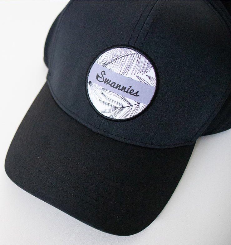 Swannies Murphy Hat Black Lavender