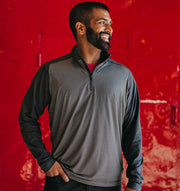 Swannies Wiesen Quarter Zip Black - Model