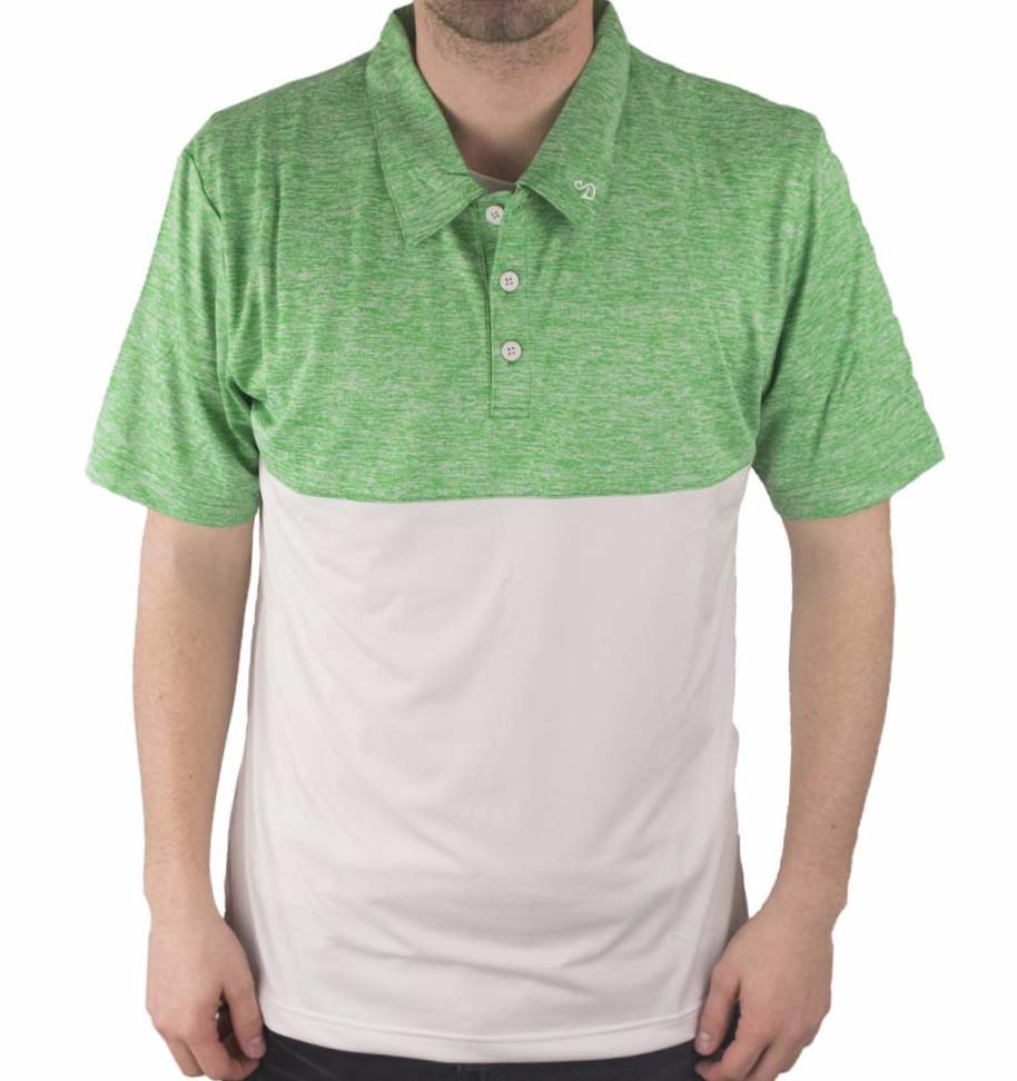 swannies team polo green