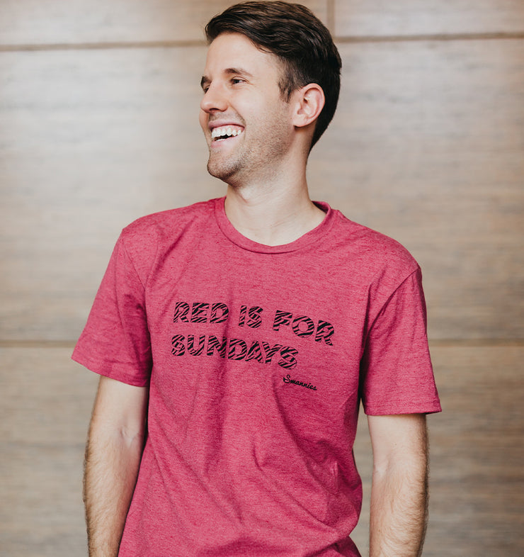 Red is for Sundays T-Shirt