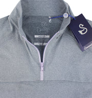 Swannies Salomons Quarter Zip (Women's) - Close Up