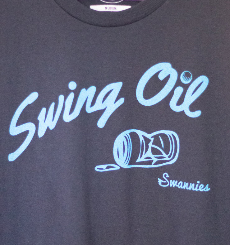 Swannies Swing Oil T-Shirt Navy