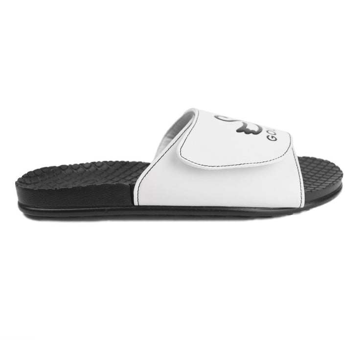 black golf sandal