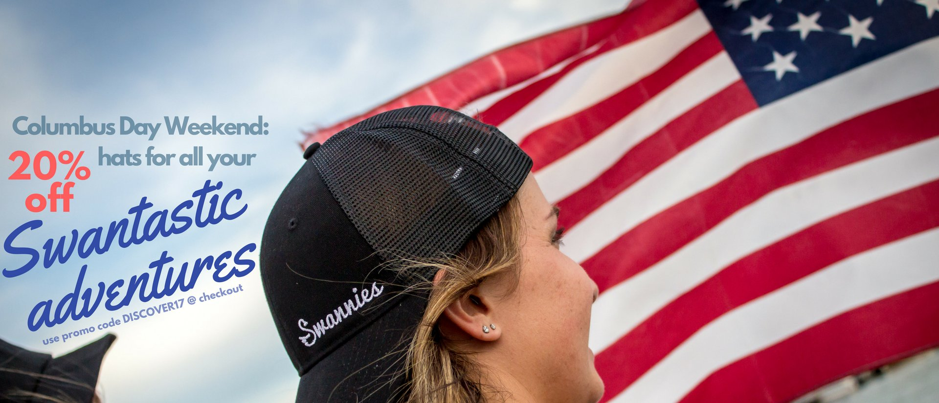 Swannies lake hats girls banner homepage