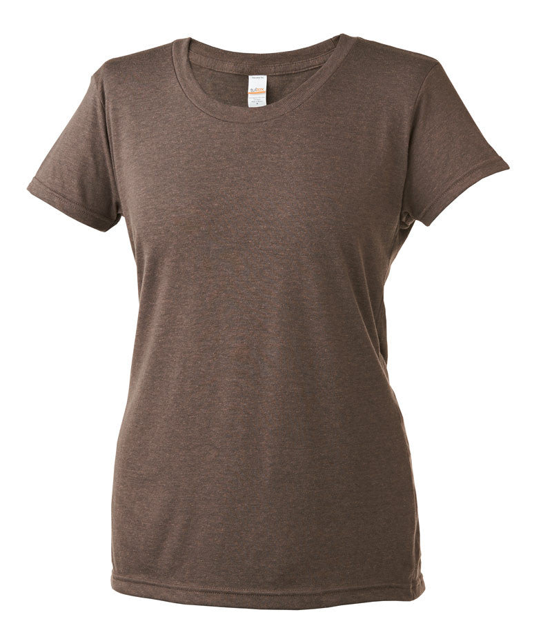 Ladies Tri Blended Short Sleeve Tee