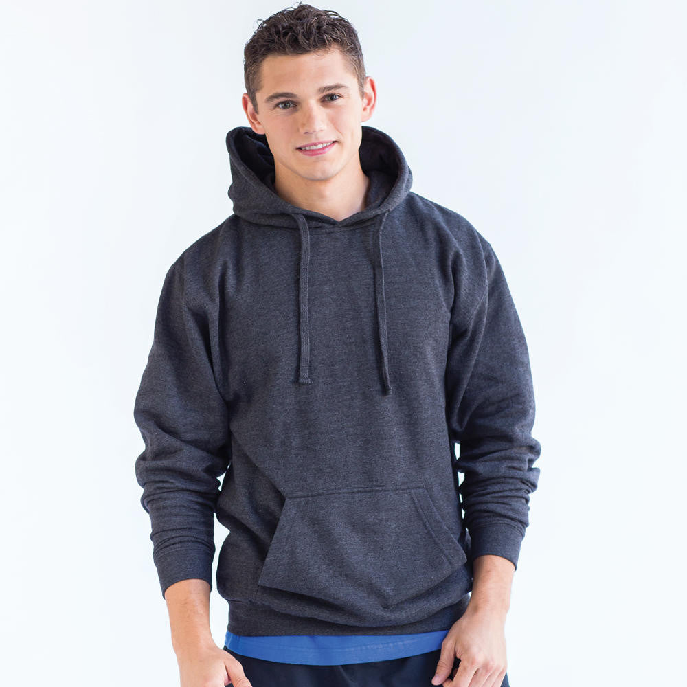 TulTex Hooded Sweatshirt - Heather Graphite