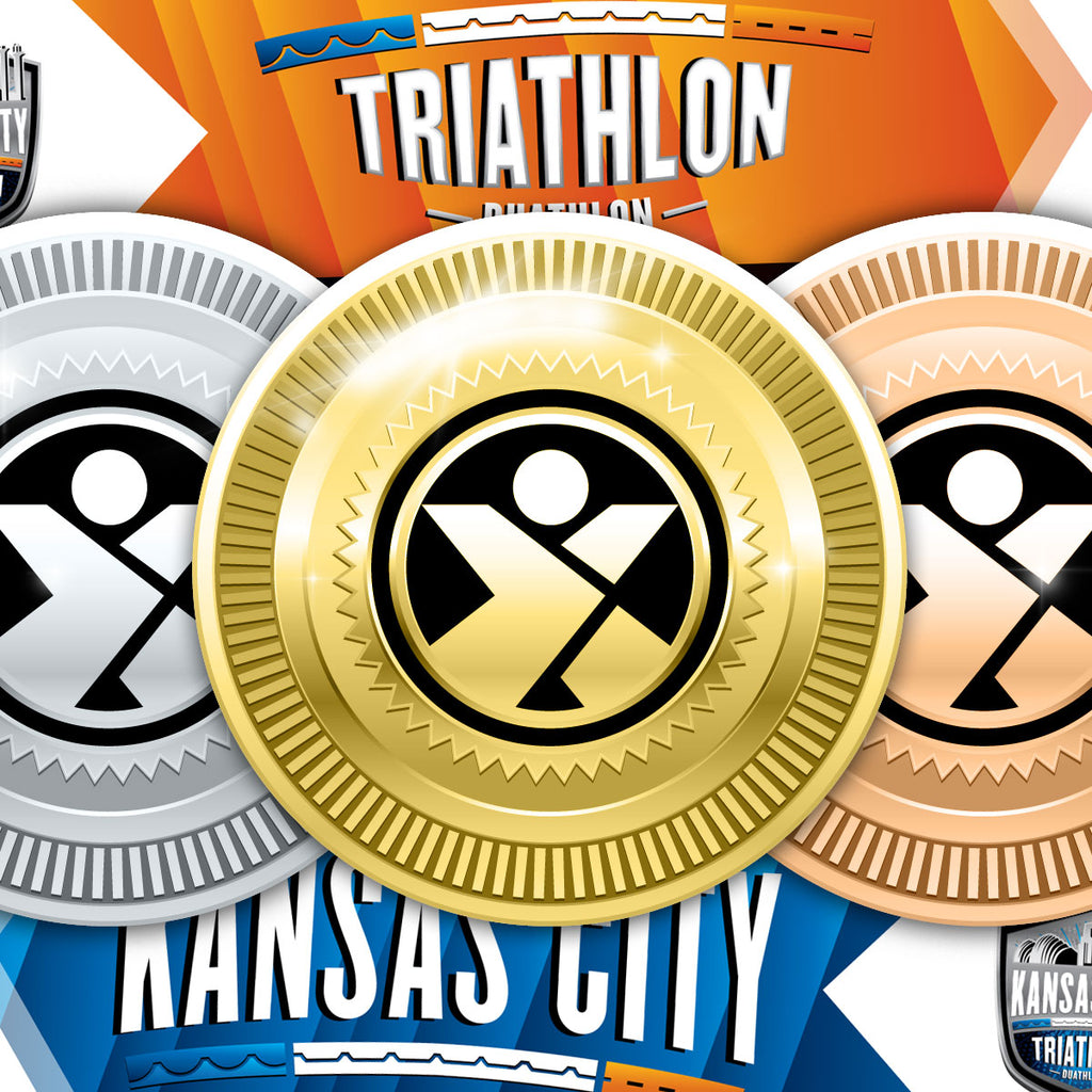 Kansas City Triathlon - Award Medal