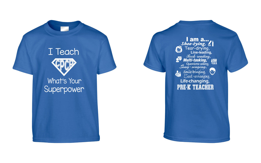 CPCP 'I Teach' Shirt