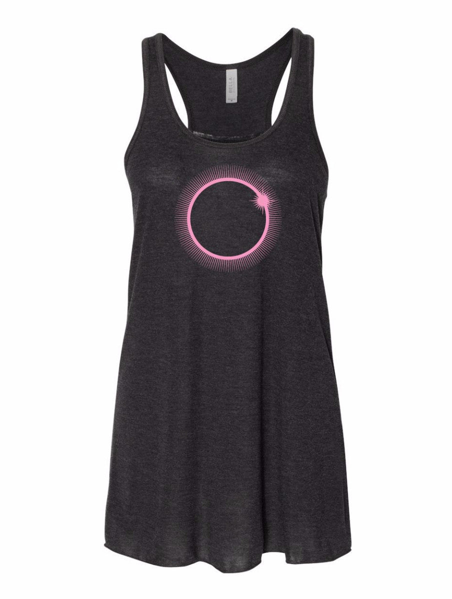 Solar Eclipse Ladies Flowy Tank